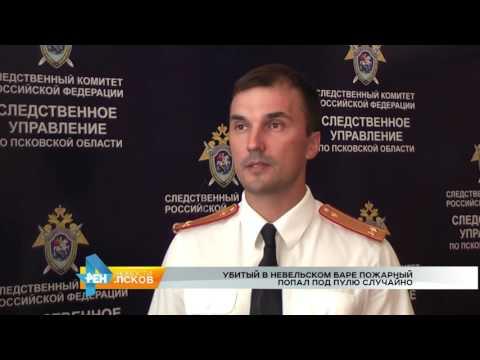 РЕН Новости Псков 03.08.2016 # Убийство в Невеле