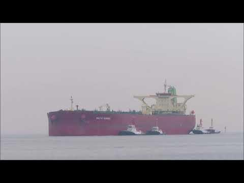 BALTIC SUNRISE 入港 Oilタンカー(Crude Oil Tanker)
