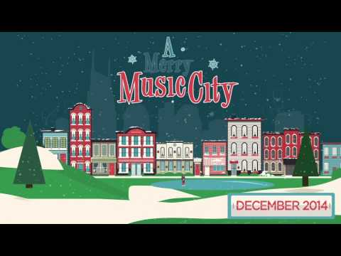 A Merry Music City Christmas Animation