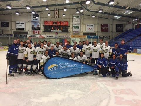Shaw vs Coastal Community Credit Union Charity Hockey Game