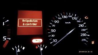 Antipollution à contrôler /Remplacement la vanne EGR Renault Latitude 2.0 DCI