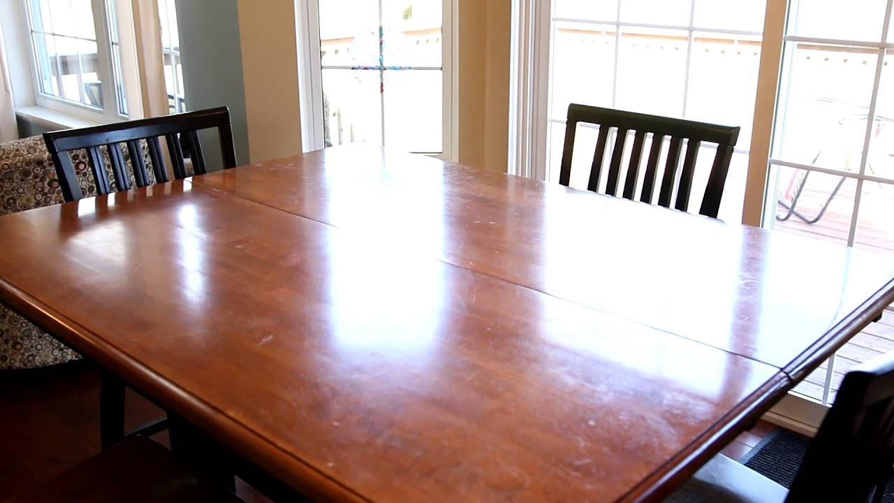 how to stage a dining room table | How to stage the dining room table. - YouTube
