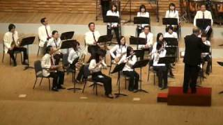 Satiric Dances-Norman Dello Joio-Sasebo Wind Orchestra-Jan 18 2009-Jack Adams Conductor