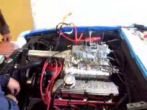first run supercharged 302 roller motor youtube