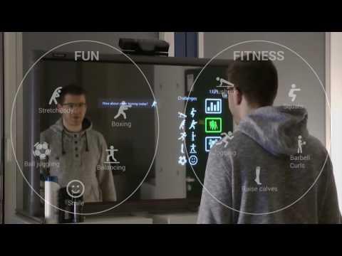 FitMirror - Ein Ubiquitous Computing Projekt der Uni Ulm zum Thema Smart Mirror