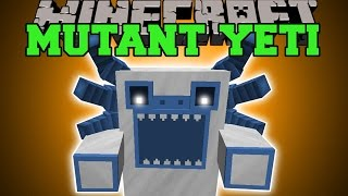 Minecraft: MUTANT YETI (CAN YOU SURVIVE THE EPIC DANCE ATTACK?!) Mod Showcase
