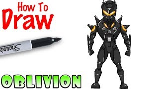 How to Draw Oblivion | Fortnite