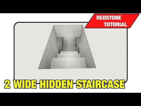 2 Wide Hidden Staircase