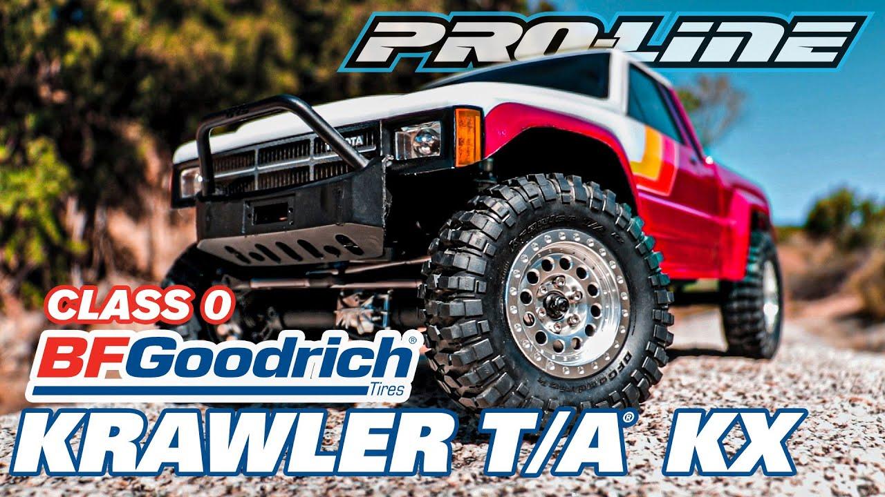 Pro-Line 10171-14 Class 0 BFGoodrich Krawler T//A KX 1.9 G8 Truck Tires F//R