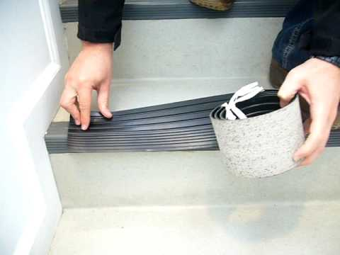 Solval   Rubber Stair Nose   YouTube