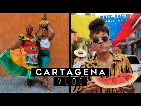 CARTAGENA COLOMBIA VLOG | Getsemani, Walled City & Blue Apple Beach