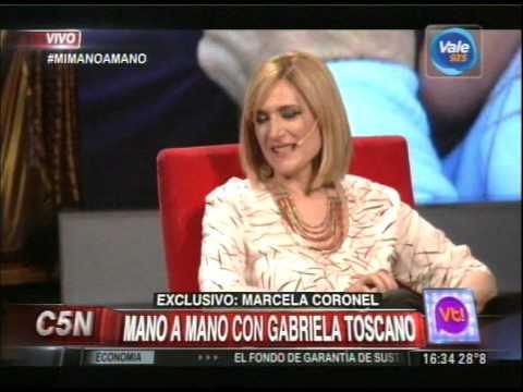 C5N - VIVA LA TARDE:  MI MANO A MANO CON GABRIELA TOSCANO