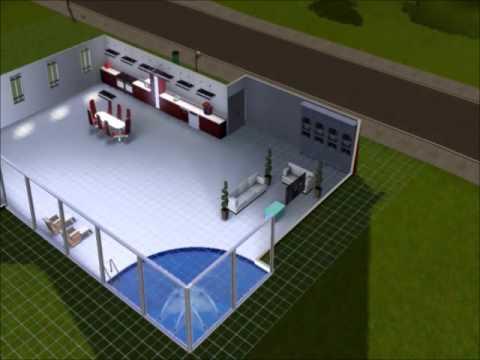 Sims 3 Build Minimalist House Youtube