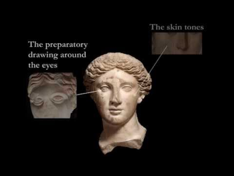 "Roman Sculpture and Colour: the ""Treu Head"" (Ancient Greek and Roman Color / Polychromy)"