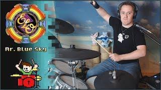 Electric Light Orchestra - Mr. Blue Sky On Drums! -- The8BitDrummer