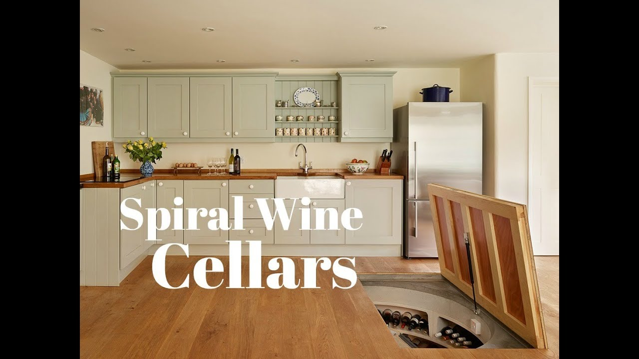 Cool Home Spiral Wine Cellar - Goes Right In Your Kitchen Floor : in ground wine cellar  - Aeropaca.Org