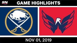 NHL Highlights   Sabres vs Capitals – Nov. 1, 2019