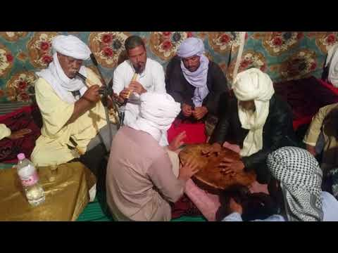 الغناء الشعبي للعرب في جنوب الجزائر -عرش الشعانبة ورقلة- Traditional arab music in south of algeria