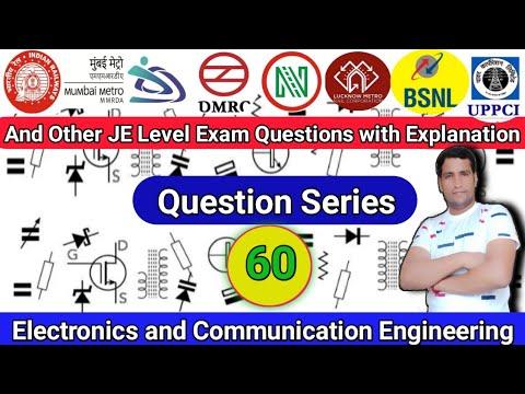 Class-60   RRB JE CBT 2   Question Series   Electronics   Important Questions   Exam Guru