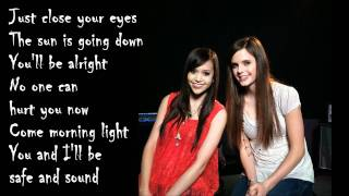 Taylor Swift - Safe And Sound (Cover by Megan Nicole and Tiffany Alvord) [Lyrics Video]