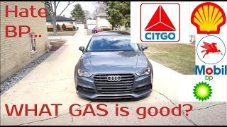 What gas is the best for your car... | My OPINION