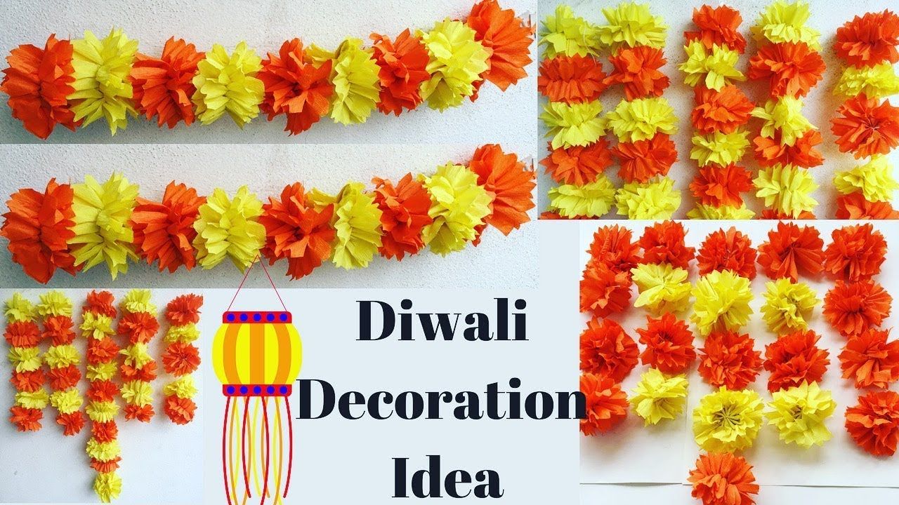 Diwali decorations ideas at home