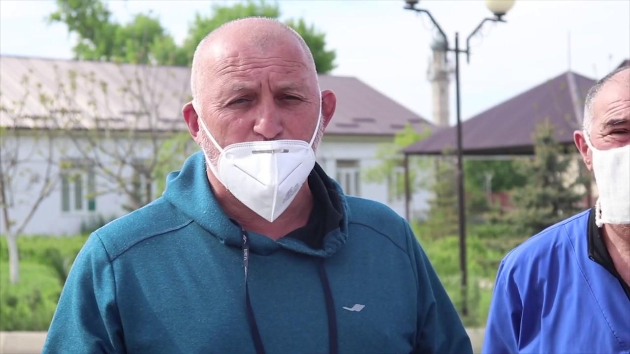 Магомед Шабанов проинспектировал готовность перепрофилированного медучреждения под лечение COVID-19