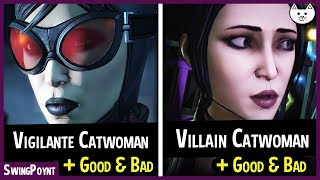 ALL CATWOMAN OUTCOMES - Vigilante Vs Villain - Telltale Batman The Enemy Within Episode 5 Choices