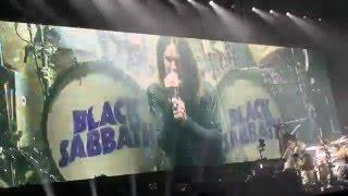 "BLACK SABBATH 2016-02-15 Denver CO ""Black Sabbath"", ""Snowblind"", Hand of Doom"", ""Paranoid"""