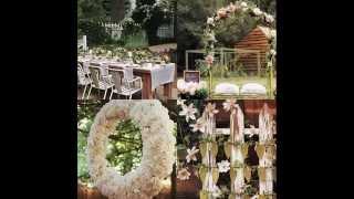 Организация свадьбы в Москве:свадебное оформление зала- цветные свадьбы