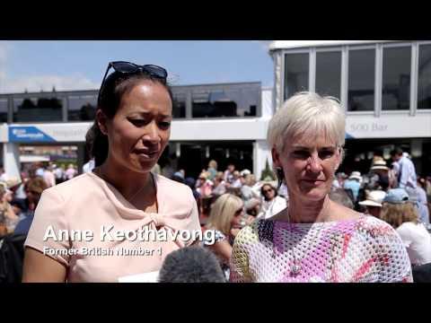 Judy Murray & Anne Keothavong rally behind Royal Marsden and Elena Baltacha Foundation
