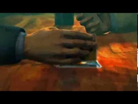 3D animation teaser - The Card Players