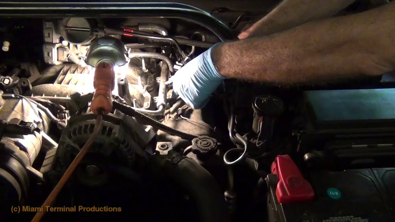 2006 Jeep Grand Cherokee Fuel Filter Location