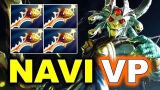 NAVI vs VP - AMAZING 4X Rapiers! - DREAMLEAGUE 8 MAJOR DOTA 2