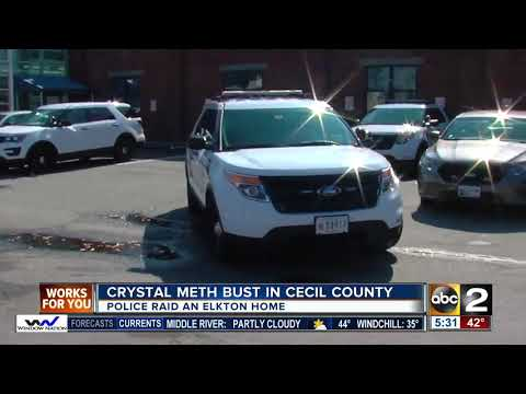 Crystal meth bust in Cecil County