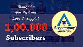 100000 Subscribers Thank You For All your Love & Support