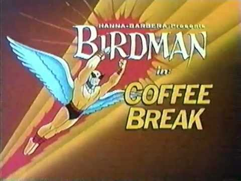 Cartoon Network: Birdman In Coffee Break