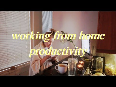 MY WORKING FROM HOME PRODUCTIVITY ROUTINE