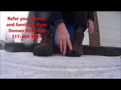 How to walk on ice and sleet safely without falling