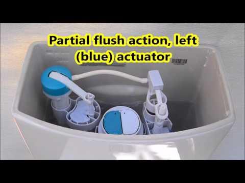 American Standard Dual Flush H2Option Toilet