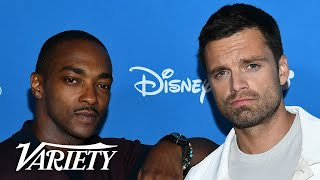 Anthony Mackie and Sebastian Stan Talk 'Falcon and the Winter Soldier'