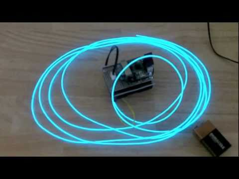 Color Fading El Wire Driver Project - YouTube
