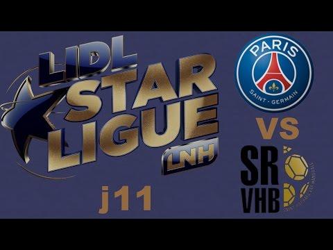 Paris SG VS Saint Raphaël Handball LIDL STARLIGUE j11