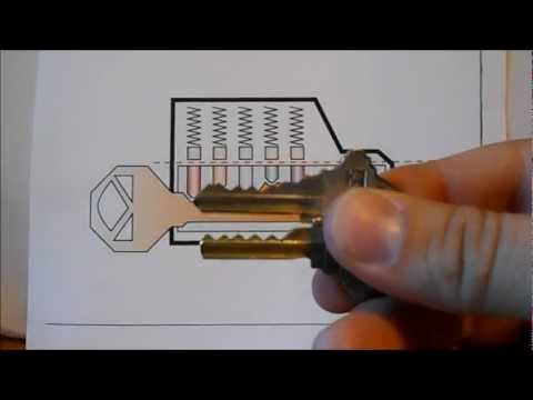 How to unlock a schlage lock with a bump key and to ...
