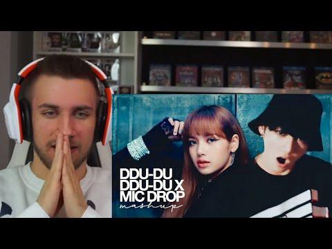 OMG! BLACKPINK & BTS - '뚜두뚜두 (DDU-DU DDU-DU) X MIC DROP' (MASHUP) - Reaction