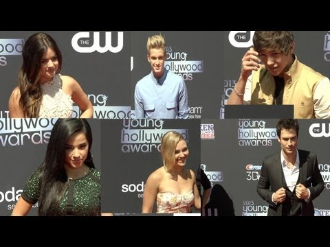 2013 Young Hollywood Awards Lucy Hale, Ian Somerhalder, Austin Mahone, Cody Simpson, Becky G