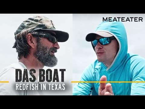 Das Boat Episode 1: Steve Rinella and JT Van Zandt Chase Redfish in Texas