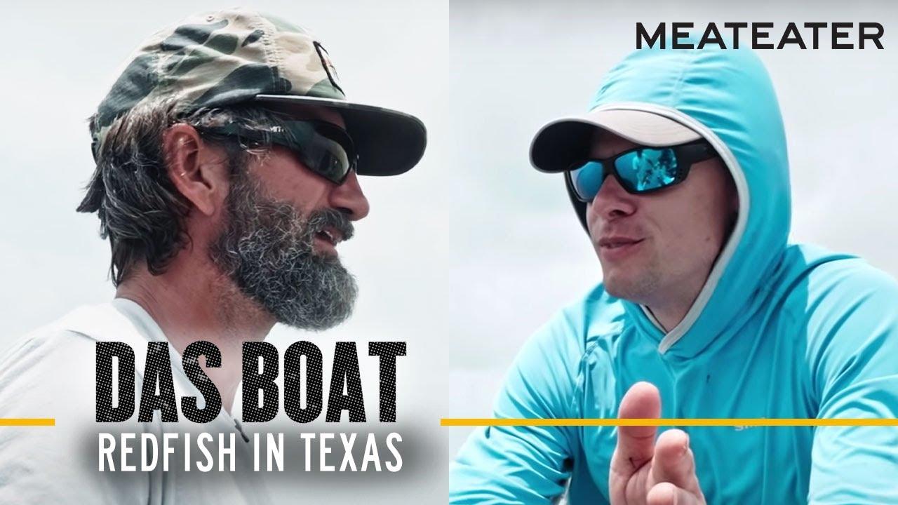 Steve Rinella and JT Van Zandt Chase Redfish in Texas | S1E01 | Das Boat