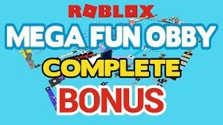 ROBLOX - MEGA FUN OBBY - BONUS - 50 stages 1 life