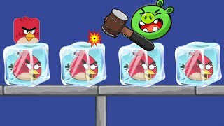 Angry Birds Frozen - USE CLEAN WATER UNFREEZE RESCUE ANGRY BIRDS!!